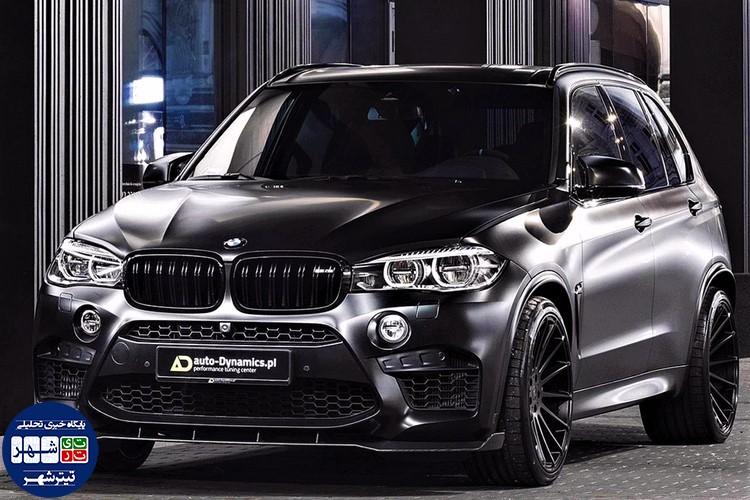 بی ام و BMW X5 M با تیونینگ اتوداینامیکس معرفی شد